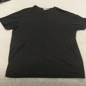 Sunspel XL black t-shirt
